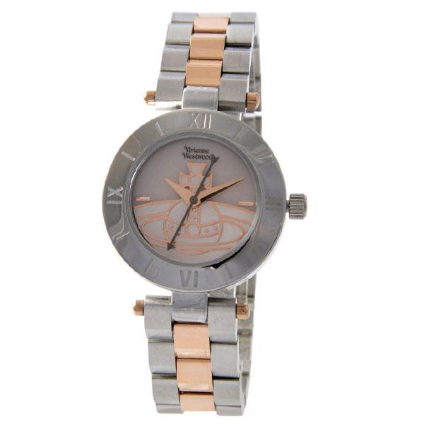 ヴィヴィアンウエストウッド 時計 ヴィヴィアン 腕時計 レディース Vivienne Westwood VV092SLTT シルバー×ローズゴールド シェル ヴィヴィアン・ウエストウッド 【あす楽対応】【送料無料】【プレゼント】