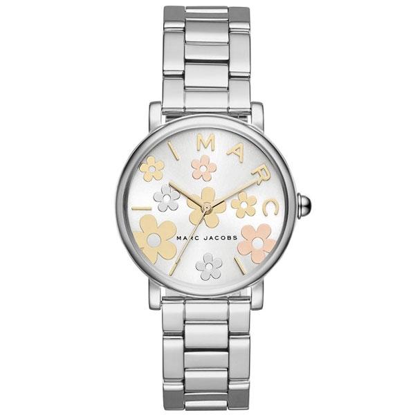 【送料無料】マークジェイコブス 時計 MARC JACOBS 腕時計 レディース MJ3579 Classic 36 ホワイト×シルバー×マルチカラー お花 花 フラワー【あす楽対応】【プレゼント】【ブランド】【セール】