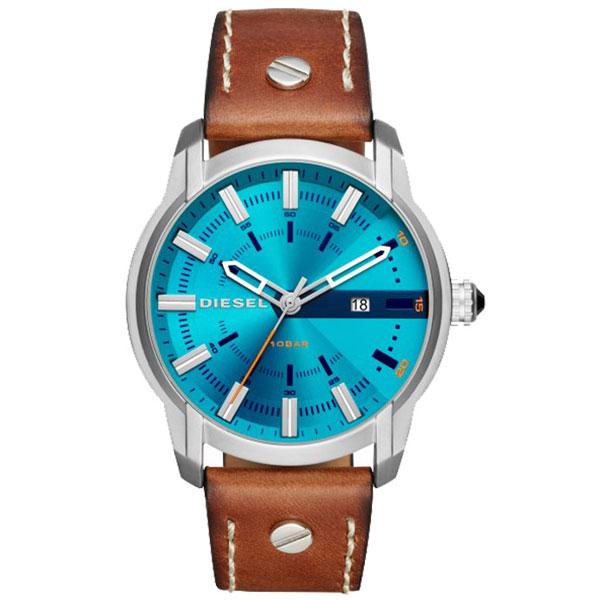 【送料無料】 ディーゼル 時計 DIESEL 腕時計 DZ1815 メンズ ARMBAR アームバー ブルー×ブラウン とけい ウォッチ【あす楽対応】【プレゼント】【ブランド】【ラッキーシール対応】【セール】