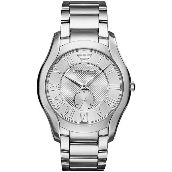 【送料無料】 EMPORIO ARMANI エンポリオアルマーニ メンズ 腕時計 AR11084 VALENTE バレンテ シルバー×シルバー エンポリオ・アルマーニ エンポリ アルマーニ 時計 とけい 【プレゼント】
