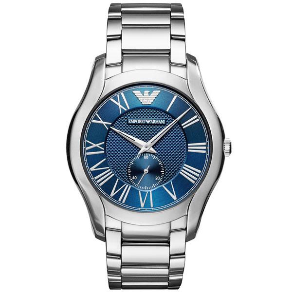 【送料無料】 EMPORIO ARMANI エンポリオアルマーニ メンズ 腕時計 AR11085 VALENTE バレンテ ブルー×シルバー エンポリオ・アルマーニ エンポリ アルマーニ 時計 とけい 【プレゼント】