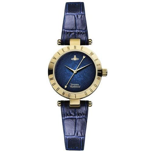 【送料無料】ヴィヴィアンウエストウッド 時計 ヴィヴィアン 腕時計 レディース Vivienne Westwood VV092NVNV ネイビー×ゴールド ヴィヴィアン・ウエストウッド【あす楽対応】【プレゼント】【セール】