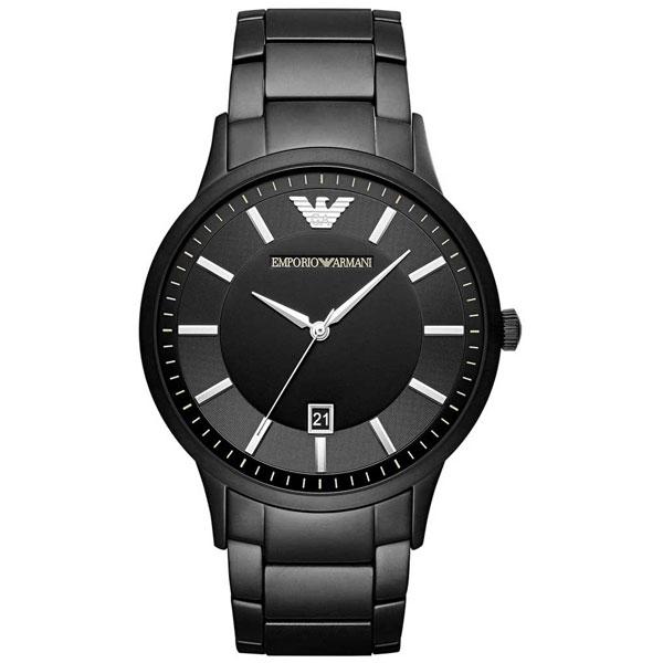 【送料無料】 EMPORIO ARMANI エンポリオアルマーニ メンズ 腕時計 AR11079 MODERN Renato レナト オールブラック エンポリオ・アルマーニ エンポリ アルマーニ 時計 とけい 【あす楽対応】【プレゼント】