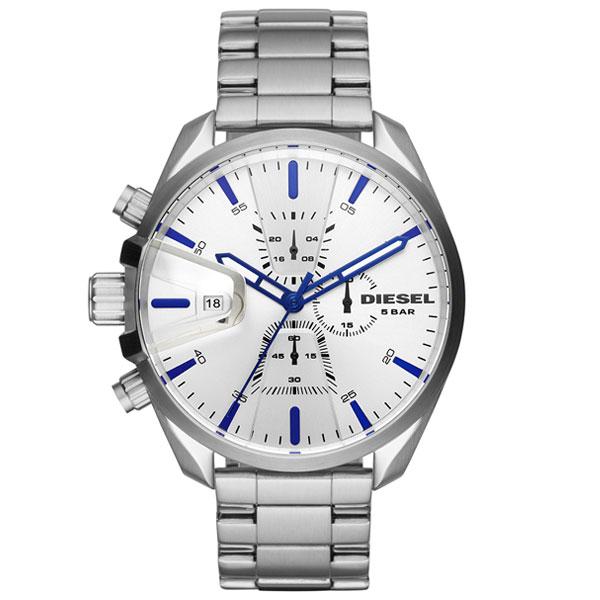 【送料無料】 ディーゼル 時計 DIESEL 腕時計 メンズ DZ4473 MS9 エムエスナイン クロノグラフ シルバー とけい ウォッチ 【あす楽対応】【プレゼント】【ブランド】【ラッキーシール対応】