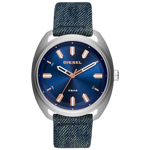 【送料無料】 ディーゼル 時計 DIESEL 腕時計 DZ1854 メンズ ネイビー×デニムベルト FASTBACK ファストバック とけい ウォッチ 【あす楽対応】【プレゼント】【ブランド】
