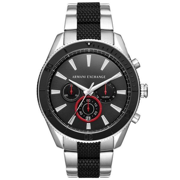 【送料無料】 アルマーニ エクスチェンジ AX 時計 ARMANI EXCHANGE メンズ 腕時計 AX1813 アルマーニエクスチェンジ クロノグラフ ブラック×シルバー とけい 【あす楽対応】【プレゼント】【ブランド】