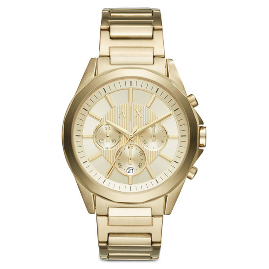 【送料無料】 アルマーニ エクスチェンジ AX 時計 ARMANI EXCHANGE メンズ 腕時計 AX2602 アルマーニエクスチェンジ クロノグラフ ゴールド とけい 【あす楽対応】【プレゼント】【ブランド】