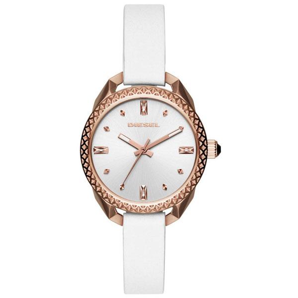 【送料無料】 ディーゼル 時計 DIESEL 腕時計 レディース DZ5546 SHAWTY ショーティー ホワイト×ピンクゴールド【あす楽対応】【プレゼント】【ブランド】【セール】