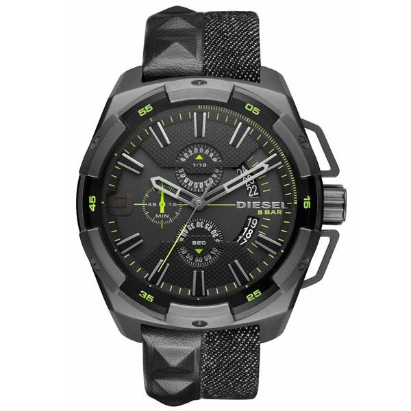 【送料無料】ディーゼル 時計 DIESEL 腕時計 DZ4420 メンズ Heavyweight ヘビーウェイト クロノグラフ ブラック×シルバー×ダークグレー とけい ウォッチ 【あす楽対応】【プレゼント】【ブランド】【セール】