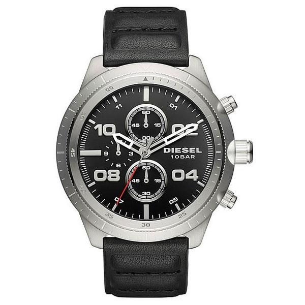 【送料無料】ディーゼル 時計 DIESEL 腕時計 DZ4439 メンズ クロノグラフ ブラック×シルバー とけい ウォッチ 【あす楽対応】【プレゼント】【ブランド】【セール】