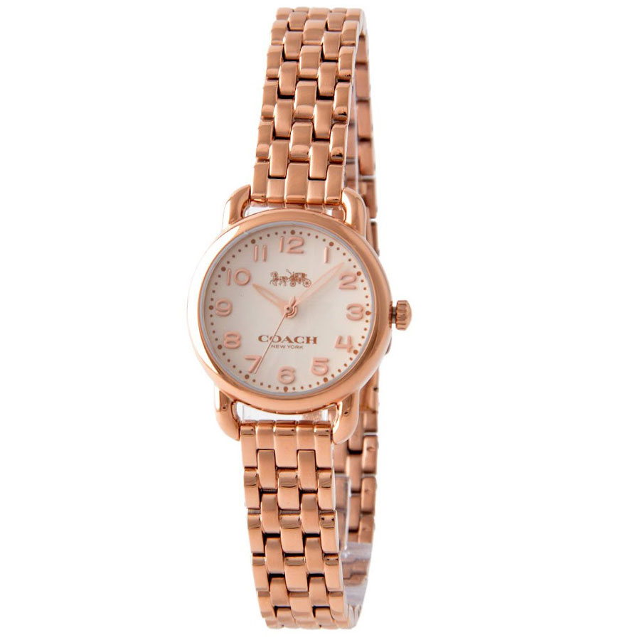【送料無料】COACH コーチ レディース 腕時計 時計 14502278 DELANCEY デランシー アイボリー×ピンクゴールド こーち とけい 【あす楽対応】【プレゼント】【ブランド】【セール】