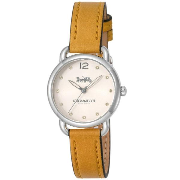 【送料無料】COACH コーチ レディース 腕時計 時計 14502909 DELANCY デランシー アイボリー×イエロー こーち とけい 【あす楽対応】【プレゼント】【ブランド】【セール】