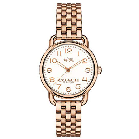 【送料無料】COACH コーチ レディース 腕時計 時計 14502242 DELANCEY デランシー アイボリー×ピンクゴールド こーち とけい 【あす楽対応】【プレゼント】【ブランド】【セール】