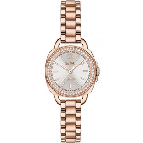 【送料無料】COACH コーチ レディース 腕時計 時計 14502643 TATUM テイタム シルバー×ピンクゴールド こーち とけい 【あす楽対応】【プレゼント】【ブランド】【セール】