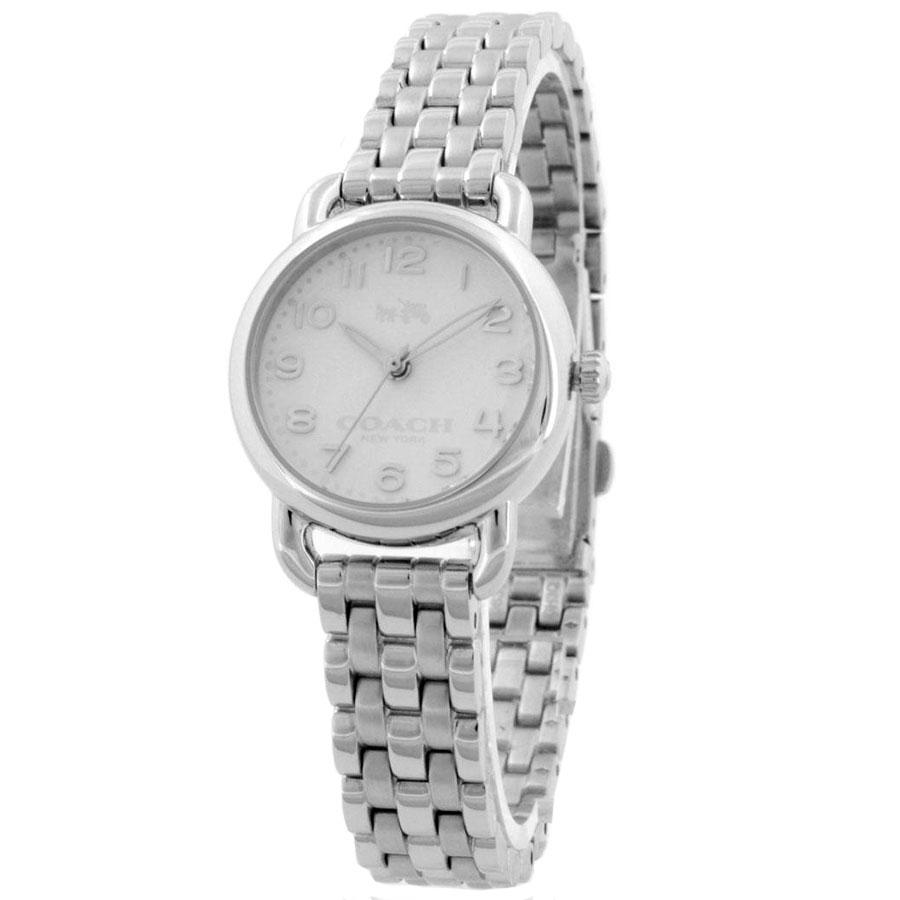 【送料無料】COACH コーチ レディース 腕時計 時計 14502276 DELANCEY デランシー アイボリー×シルバー こーち とけい 【あす楽対応】【プレゼント】【ブランド】【セール】
