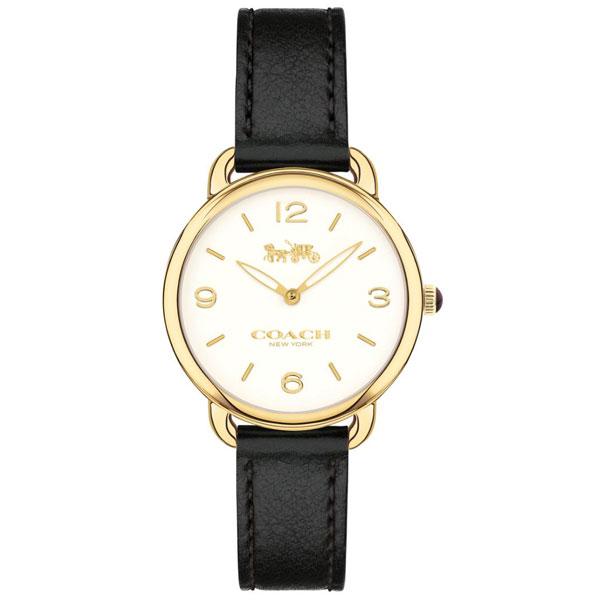 【送料無料】COACH コーチ レディース 腕時計 時計 14502791 DELANCEY デランシー アイボリー×イエローゴールド×ブラック こーち とけい 【あす楽対応】【プレゼント】【ブランド】【セール】