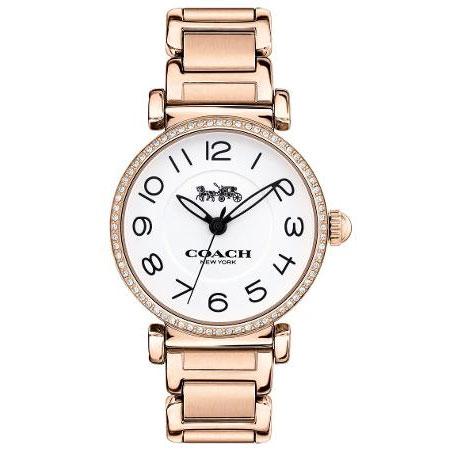 【送料無料】COACH コーチ レディース 腕時計 時計 14502856 MADISON マディソン アイボリー×ピンクゴールド こーち とけい 【あす楽対応】【プレゼント】【ブランド】【セール】