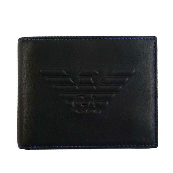 b0bbbe37dce6 【送料無料】EMPORIO ARMANI 財布 エンポリオアルマーニ 二つ折り財布 メンズ Y4R165 YG90J 81072