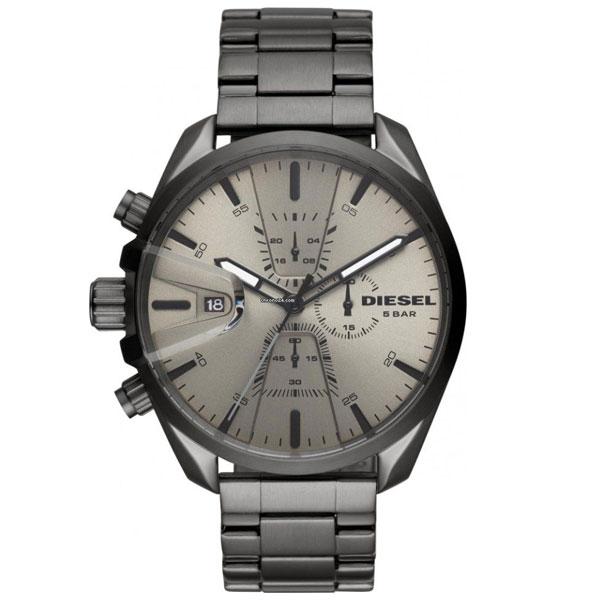 【送料無料】ディーゼル 時計 DIESEL 腕時計 DZ4484 メンズ MS9 CHRONO エムエスナイン クロノグラフ ガンメタル とけい ウォッチ 【あす楽対応】【プレゼント】【ブランド】【ラッキーシール対応】