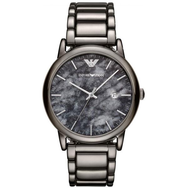 【送料無料】EMPORIO ARMANI エンポリオアルマーニ メンズ 腕時計 AR11155 Luigi ルイージ グレー エンポリオ・アルマーニ エンポリ アルマーニ 時計 とけい【あす楽対応】【ブランド】【プレゼント】【セール】
