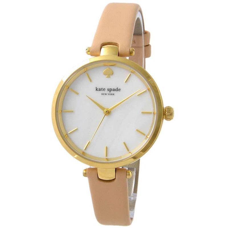 【送料無料】ケイトスペード 腕時計 レディース 時計 kate spade KSW1281 Holland ホランド 女性用 ホワイトシェル×ベージュ【あす楽対応】【プレゼント】【ブランド】【セール】