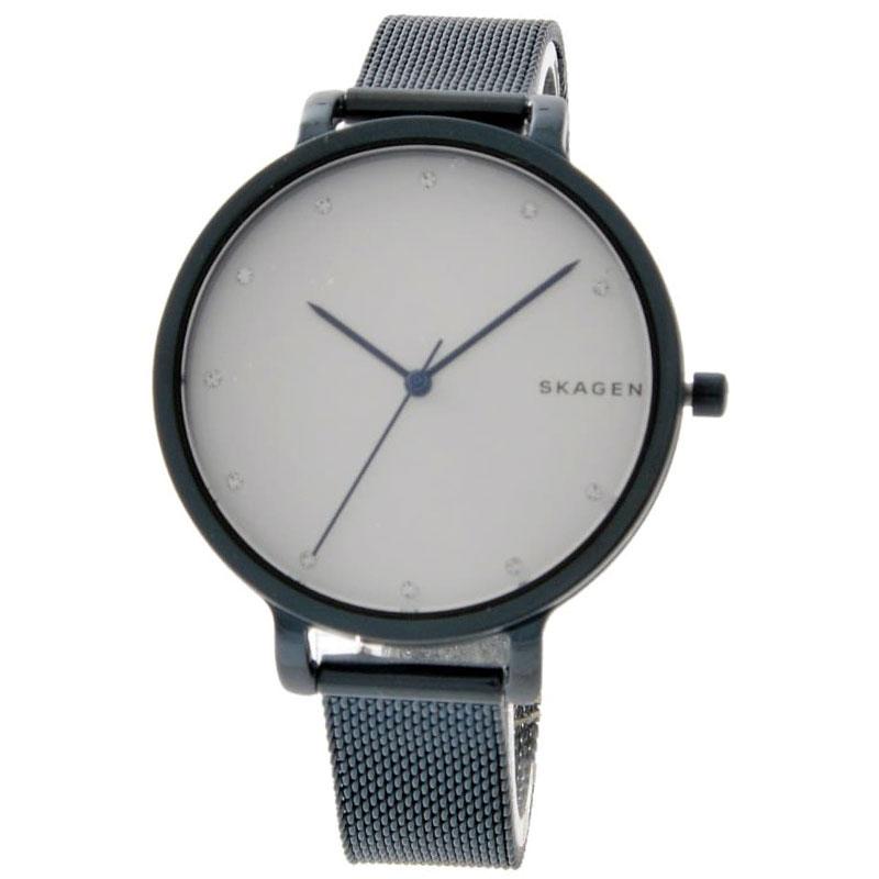 【送料無料】SKAGEN スカーゲン レディース 腕時計 SKW2579 HAGEN ハーゲン 時計 女性用 ホワイト×ネイビー とけい 【あす楽対応】【プレゼント】【ブランド】【ラッキーシール対応】【セール】