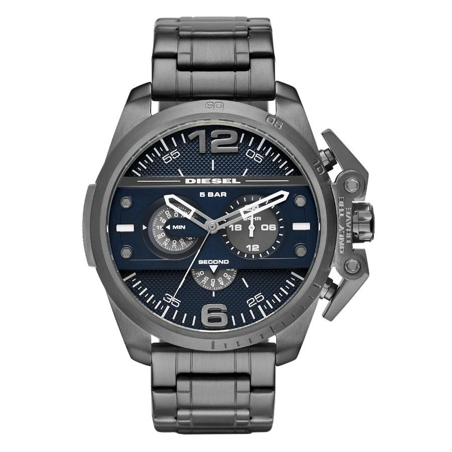 【超目玉】【送料無料】 ディーゼル 時計 DIESEL 腕時計 DZ4398 メンズ ネイビー×ガンメタル アイアンサイド とけい ウォッチ 【あす楽対応】【プレゼント】【ブランド】【ラッキーシール対応】