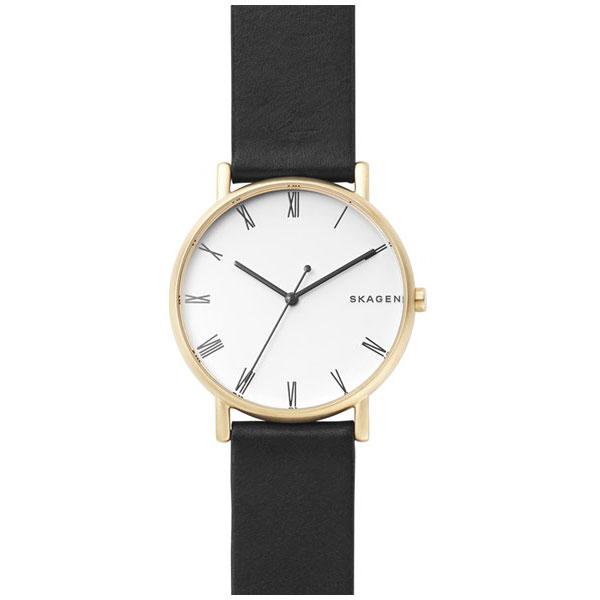 【送料無料】SKAGEN スカーゲン メンズ 腕時計 SKW6426 SIGNATUR シグネチャー 時計 男性用 ホワイト×ゴールド×ブラック とけい【あす楽対応】【プレゼント】【ブランド】【ラッキーシール対応】【セール】