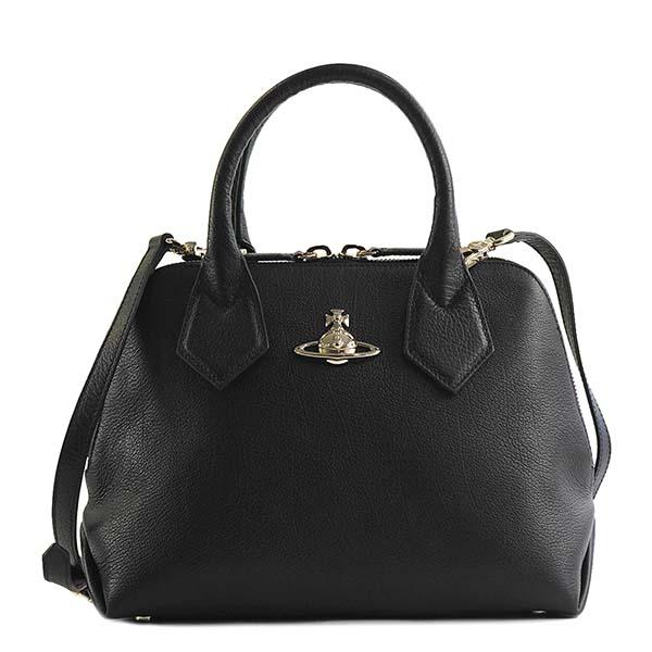 【送料無料】Vivienne Westwood ヴィヴィアン ウエストウッド バッグ ハンドバッグ ショルダーバッグ 42010026 BALMORAL BLACK ブラック かばん 鞄 ビビアン【あす楽対応】【ブランド】【ラッキーシール対応】【セール】