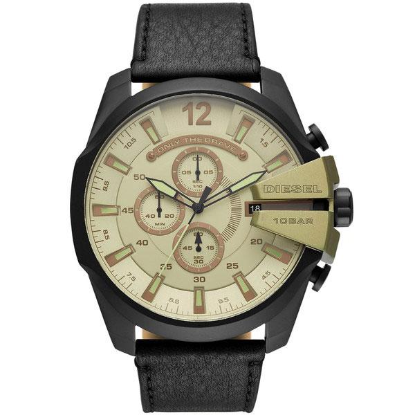 【送料無料】ディーゼル 時計 DIESEL 腕時計 DZ4495 メンズ MEGA CHIEF メガチーフ クロノグラフ グリーン×ブラック とけい ウォッチ 【プレゼント】【ブランド】