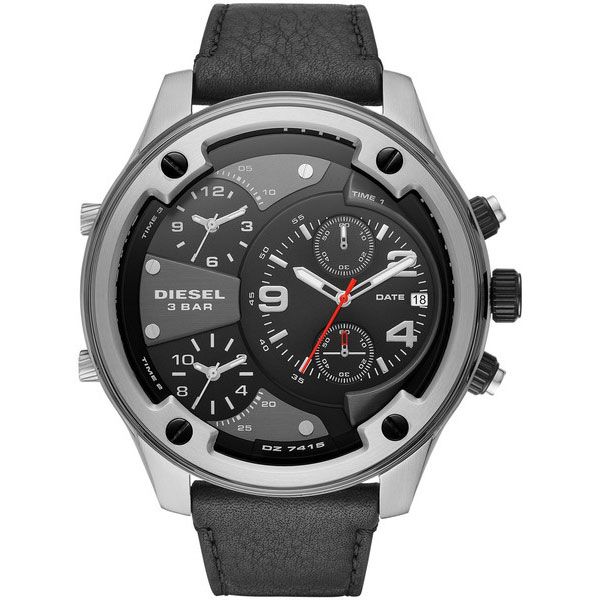 【送料無料】ディーゼル 時計 DIESEL 腕時計 DZ7415 メンズ BOLTDOWN ボルトダウン ブラック×シルバー クロノグラフ とけい ウォッチ 【あす楽対応】【プレゼント】【ブランド】【ラッキーシール対応】【セール】