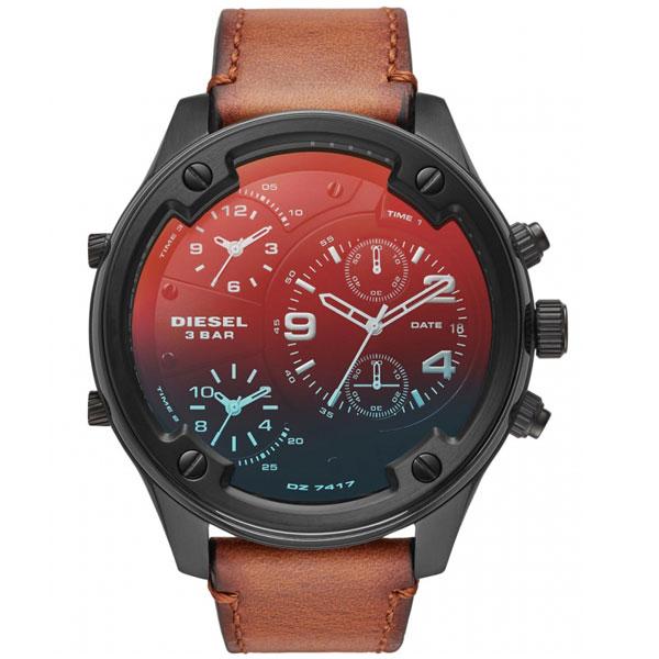 【送料無料】ディーゼル 時計 DIESEL 腕時計 DZ7417 メンズ BOLTDOWN ボルトダウン ブラウン ミラー クロノグラフ とけい ウォッチ 【あす楽対応】【プレゼント】【ブランド】【ラッキーシール対応】【セール】