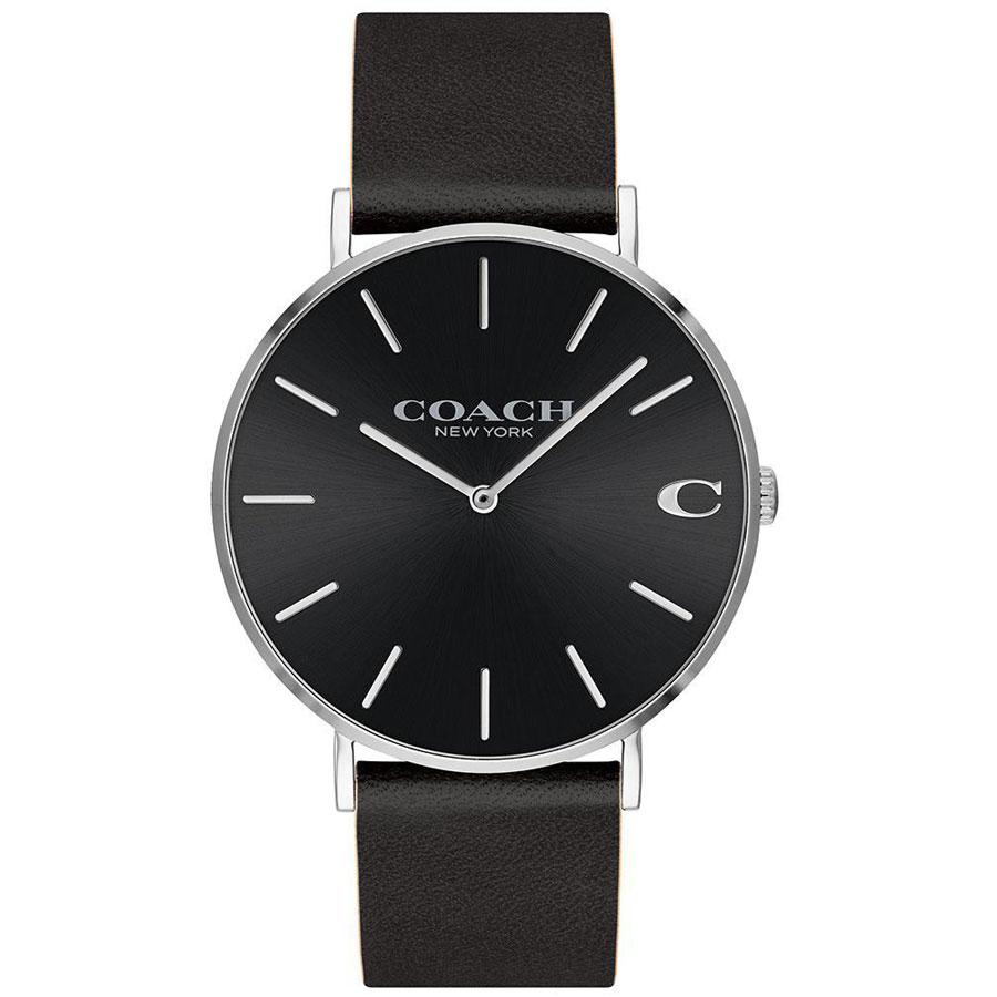 【送料無料】COACH コーチ メンズ 腕時計 時計 14602149 Charles チャールズ ブラック こーち 【あす楽対応】【プレゼント】【ブランド】【ラッキーシール対応】【セール】