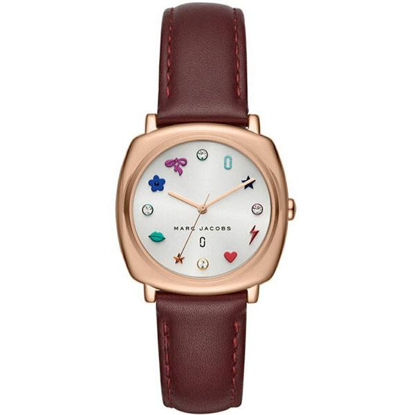【送料無料】マークジェイコブス 時計 MARC JACOBS 腕時計 レディース MJ1598 MANDYマンディ ホワイト×ピンクゴールド×ボルドー【あす楽対応】【ブランド】【プレゼント】【ラッキーシール対応】【セール】