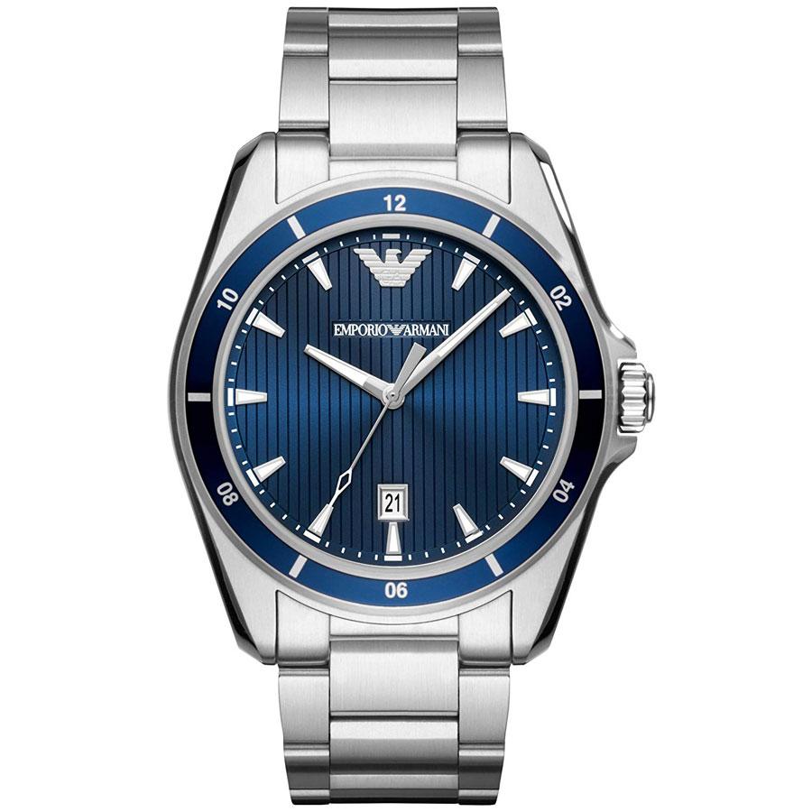 【送料無料】EMPORIO ARMANI エンポリオアルマーニ メンズ 腕時計 時計 AR11100 SIGMA シグマ ブルー×シルバー エンポリオ・アルマーニ エンポリ アルマーニ【あす楽対応】【プレゼント】【ブランド】【ラッキーシール対応】