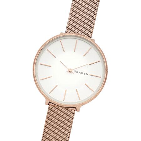 SKAGEN スカーゲン レディース 腕時計  SKW2726 KAROLINA カロリーナ 時計 女性用 ホワイト×ピンクゴールド【あす楽対応】【RCP】【プレゼント】【ブランド】【ラッキーシール対応】【セール】