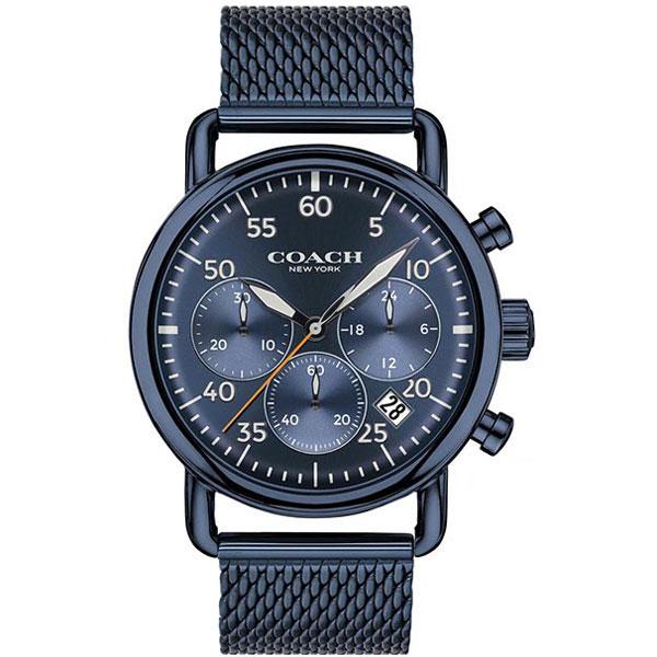 【送料無料】COACH コーチ メンズ 腕時計 時計 14602374 DELANCEY デランシー ネイビー こーち【あす楽対応】【プレゼント】【ブランド】【セール】