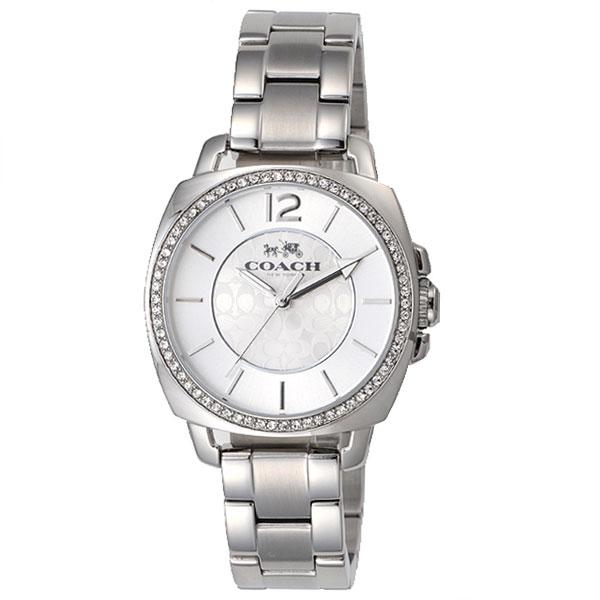 【送料無料】COACH コーチ レディース 腕時計 時計 14502147 BOYFRIEND ボーイフレンド シルバー×シルバー こーち 【あす楽対応】【プレゼント】【ブランド】【ラッキーシール対応】【セール】