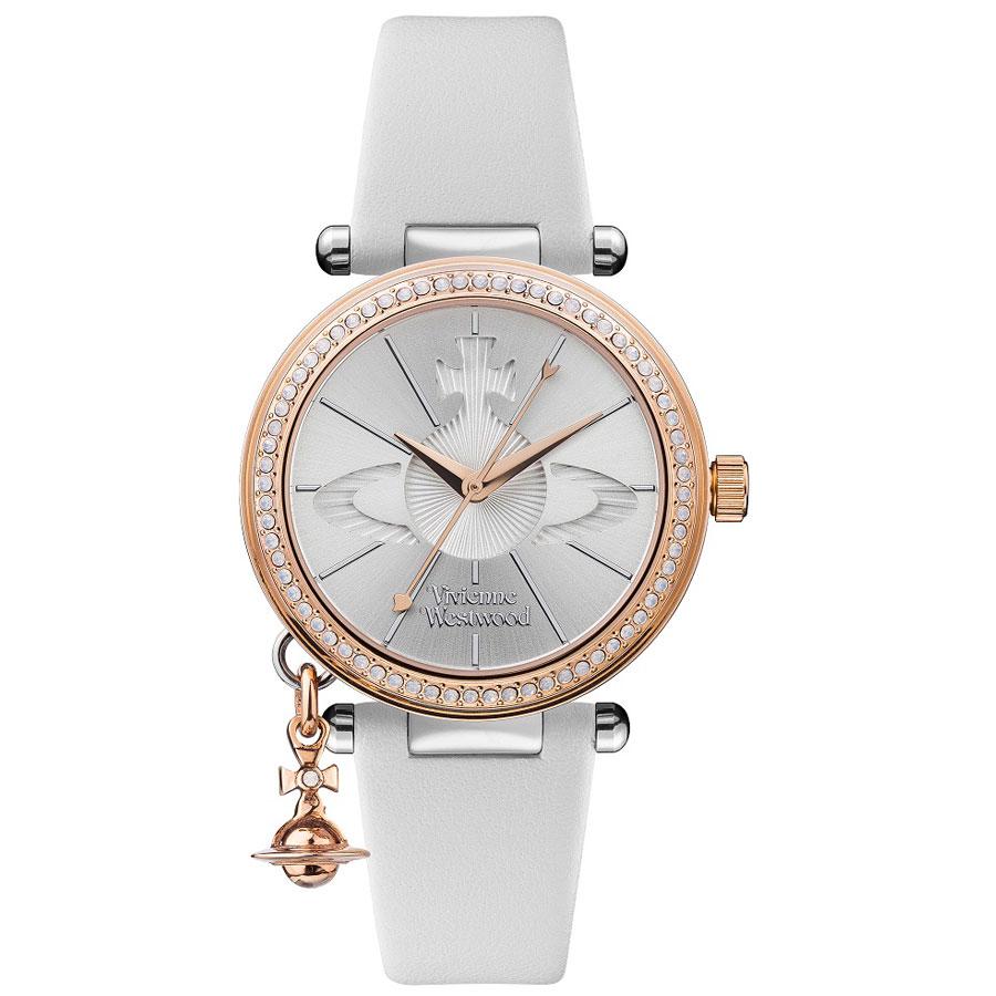 【送料無料】Vivienne Westwood ヴィヴィアン ウエストウッド レディース 腕時計 時計 ビビアン VV006RSWH シルバー×ホワイト ORB PASTELLE オーブパステル【あす楽対応】【プレゼント】【ブランド】【ラッキーシール対応】