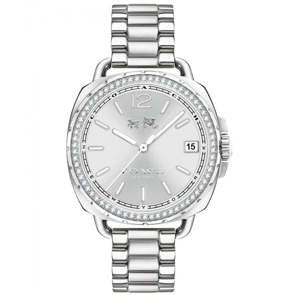 【送料無料】COACH コーチ レディース 腕時計 時計 14502588 Tatum テイタム シルバー×シルバー こーち 【あす楽対応】【プレゼント】【ブランド】【ラッキーシール対応】【セール】