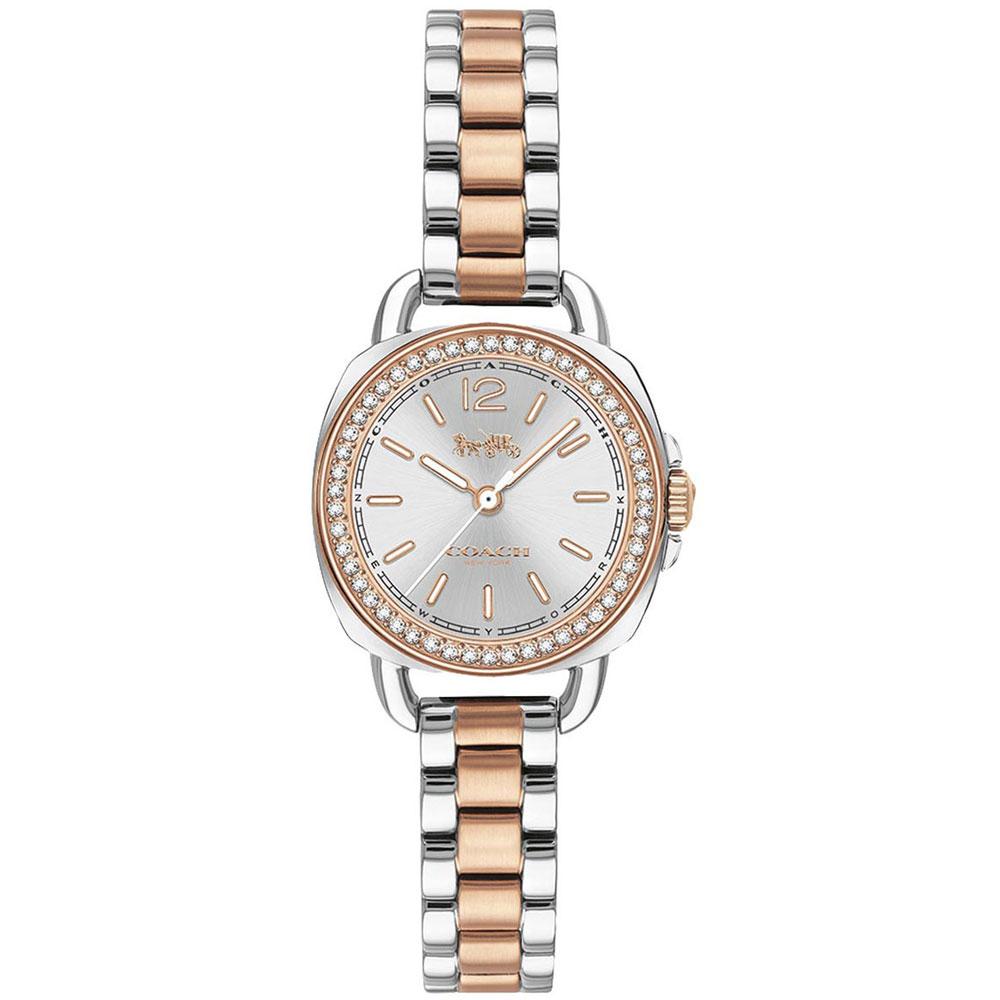 【送料無料】COACH コーチ レディース 腕時計 時計 14502951 Tatum テイタム シルバー×ピンクゴールド こーち【あす楽対応】【プレゼント】【ブランド】【ラッキーシール対応】【セール】