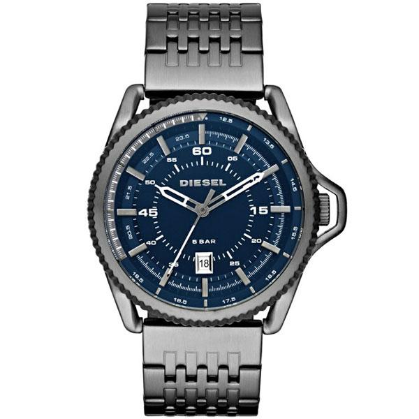 【送料無料】ディーゼル 時計 DIESEL 腕時計 DZ1753 メンズ ROLLCAGE ロールケージ ネイビー×ガンメタル とけい ウォッチ【あす楽対応】【プレゼント】【ブランド】【ラッキーシール対応】