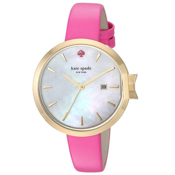 【送料無料】ケイトスペード 腕時計 レディース 時計 kate spade KSW1268 女性用 ホワイトシェル×ピンク【あす楽対応】【プレゼント】【ブランド】【ラッキーシール対応】【セール】