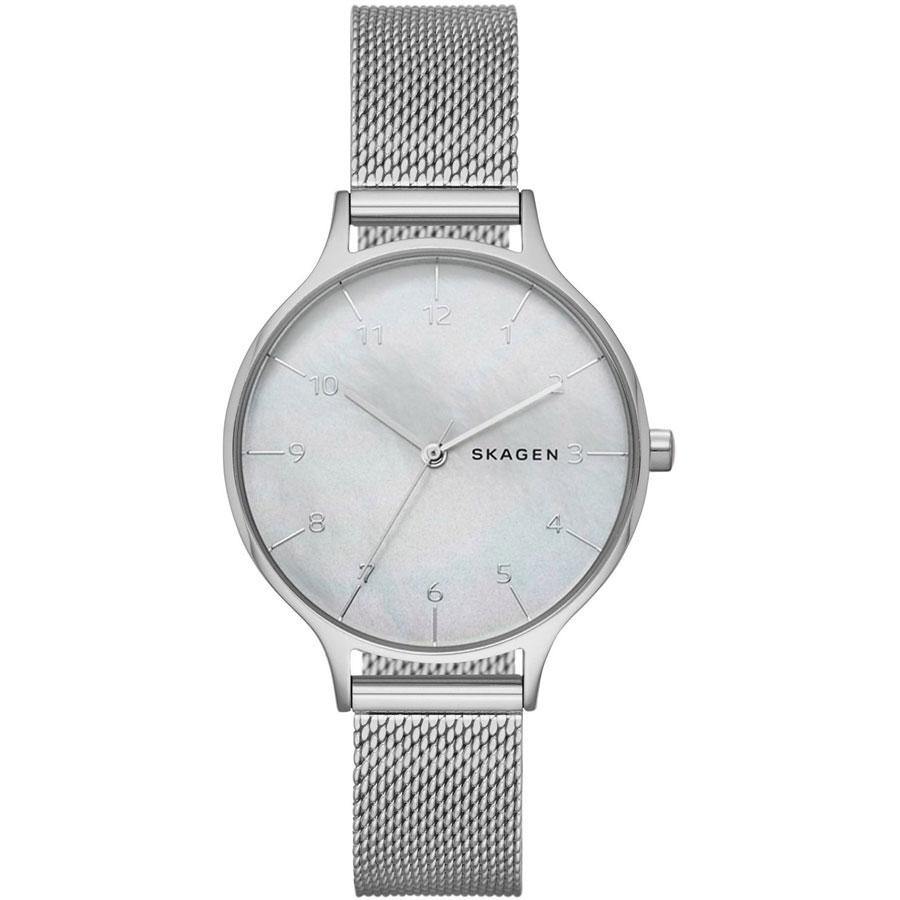 【送料無料】SKAGEN スカーゲン レディース 腕時計 SKW2701 ANITA アニータ 時計 女性用 メッシュベルト ホワイトシェル×シルバー【あす楽対応】【プレゼント】【ブランド】【ラッキーシール対応】【セール】