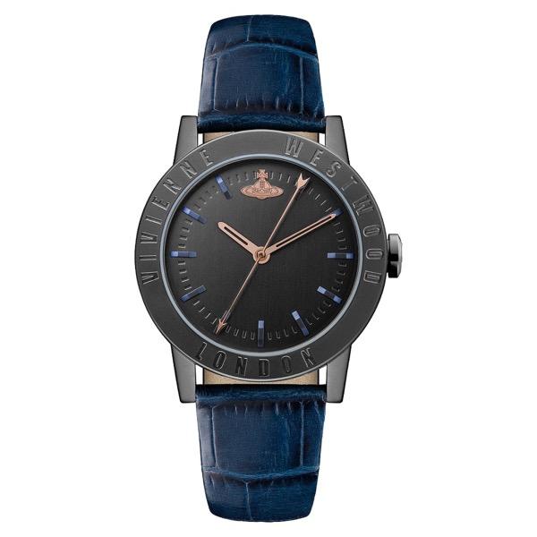 【送料無料】Vivienne Westwood ヴィヴィアン ウエストウッド レディース 腕時計 時計 VV213BKBL Warwick ワーウィック ブラック×ネイビー とけい ビビアン【あす楽対応】【プレゼント】【ブランド】【セール】