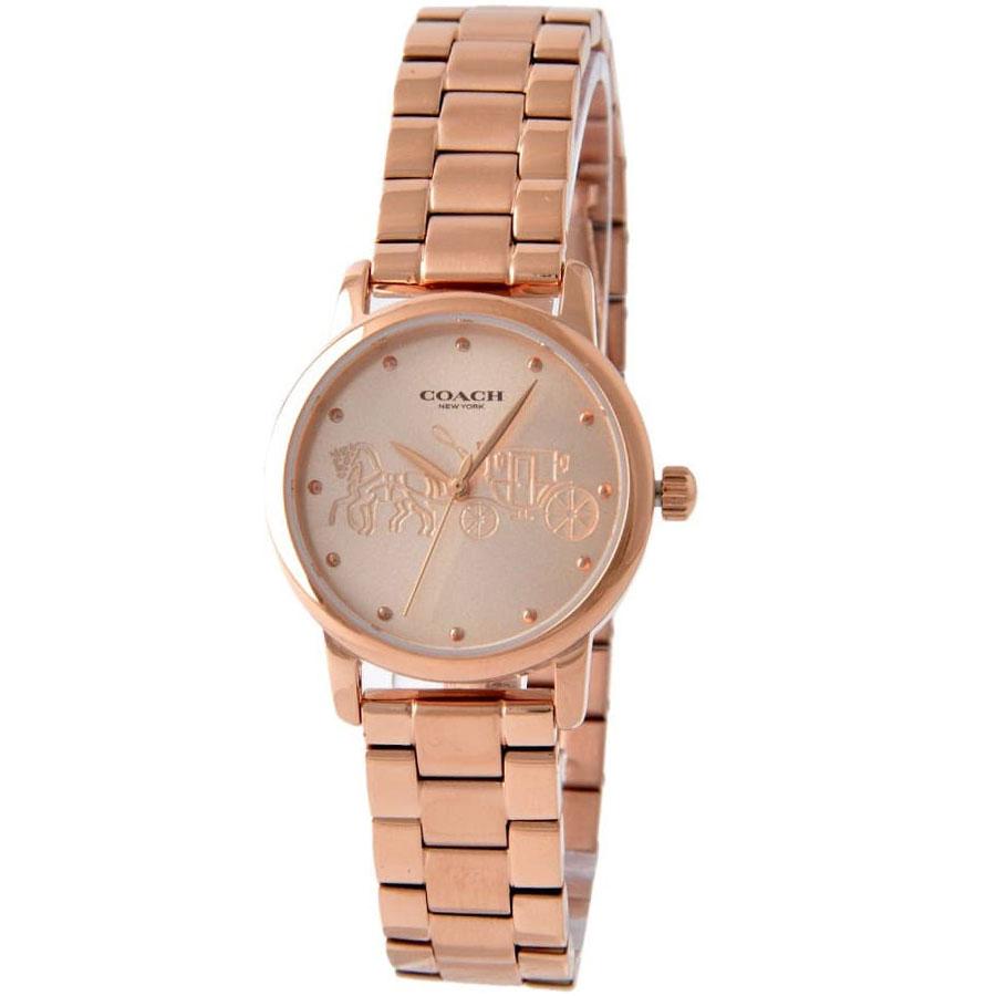 【送料無料】COACH コーチ レディース 腕時計 時計 14502977 GRAND グランド ピンクゴールド こーち 【あす楽対応】【プレゼント】【ブランド】【ラッキーシール対応】【セール】