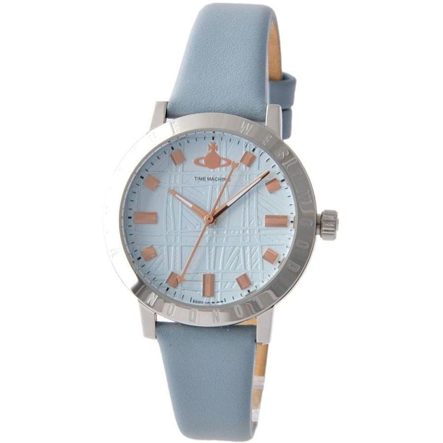 【送料無料】Vivienne Westwood ヴィヴィアン ウエストウッド レディース 腕時計 時計 VV152BLBL Bloomsbury ブルームズベリー ライトブルー×シルバー×パステルブルー【あす楽対応】【ブランド】【プレゼント】【セール】