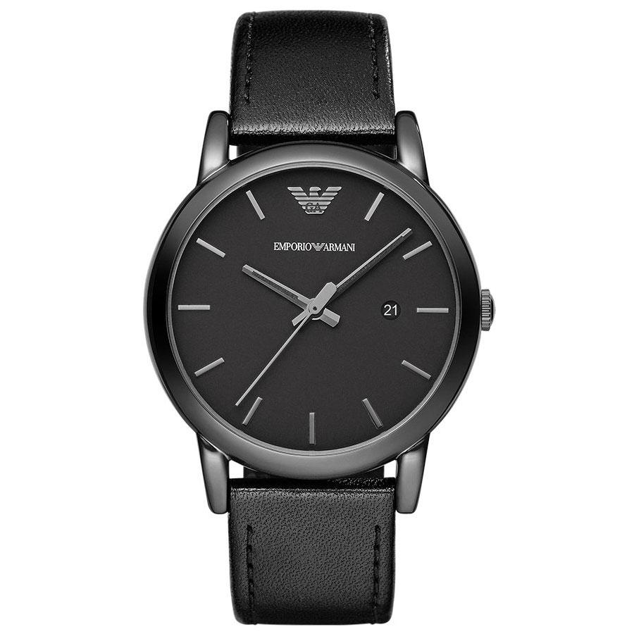 【送料無料】EMPORIO ARMANI エンポリオアルマーニ メンズ 腕時計 時計 AR1732 Luigi ルイージ オールブラック エンポリオ・アルマーニ エンポリ アルマーニ とけい【あす楽対応】【ブランド】【プレゼント】【セール】