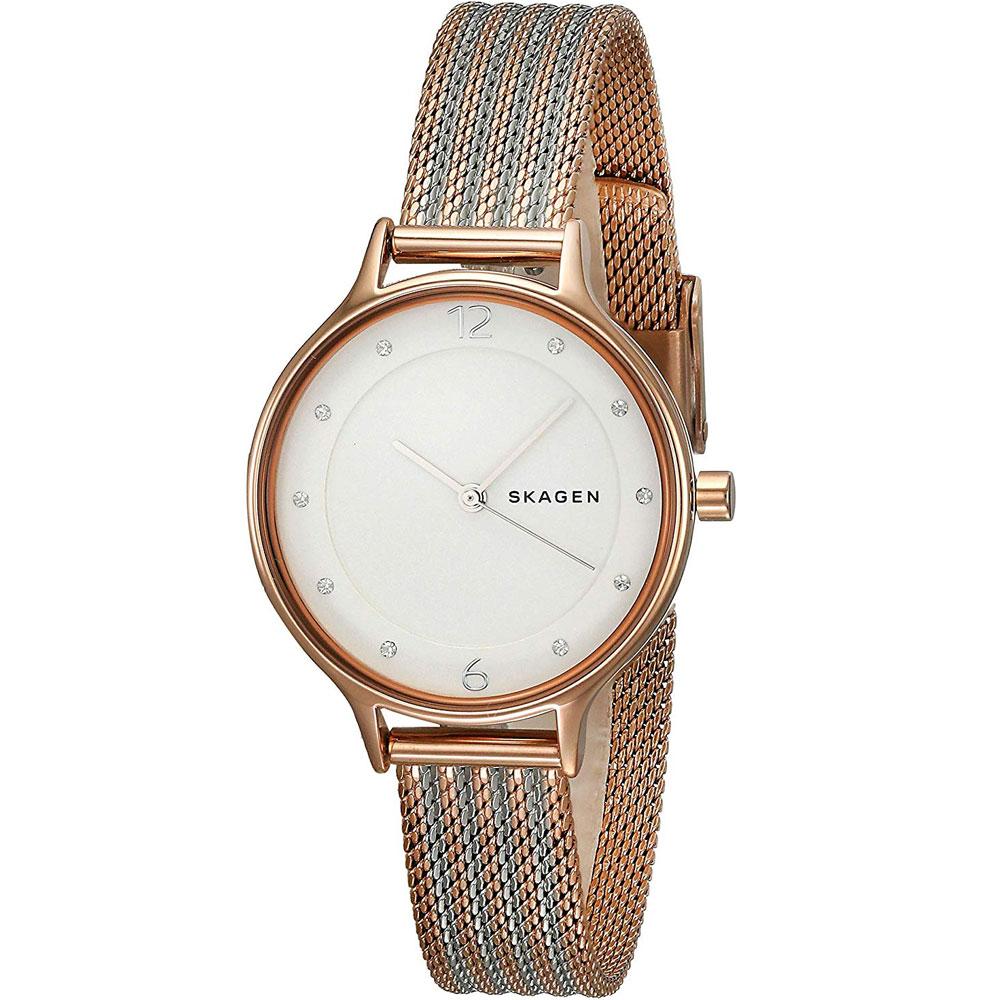 【送料無料】SKAGEN スカーゲン レディース 腕時計 SKW2749 ANITA アニータ 時計 女性用 メッシュベルト シルバー×ピンクゴールド【あす楽対応】【プレゼント】【ブランド】【セール】