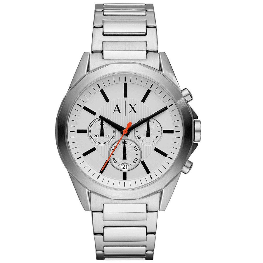 【送料無料】アルマーニ エクスチェンジ AX 時計 ARMANI EXCHANGE メンズ 男性用 腕時計 AX2624 クロノグラフ アルマーニエクスチェンジ ホワイト×シルバー【あす楽対応】【プレゼント】【ブランド】